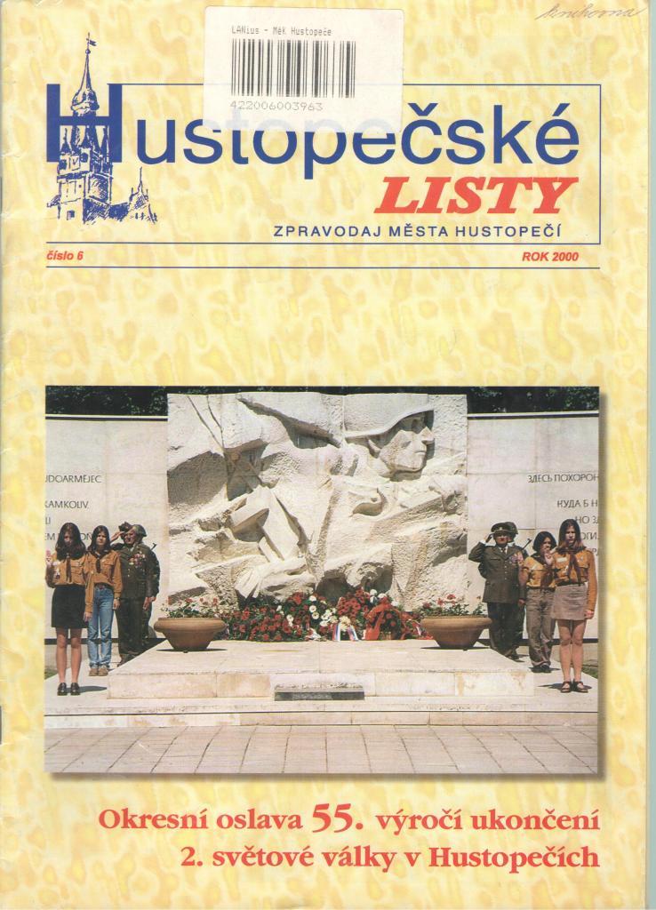 výročí osvobození Hustopečí